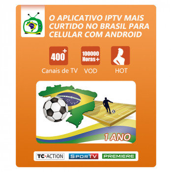 yearly card (Brasil Tv Móvel Premium)